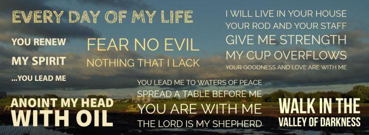 Psalm 23 lectio