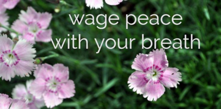 wage peace