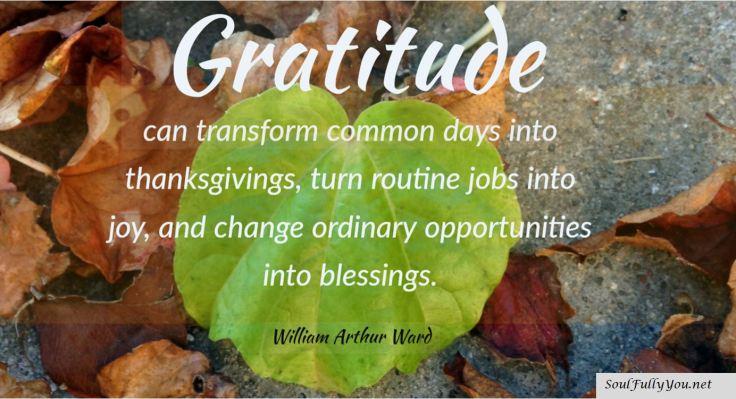 gratitude soul
