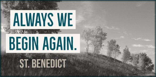 always begin again