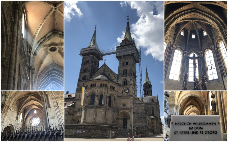 Bamberg church collage