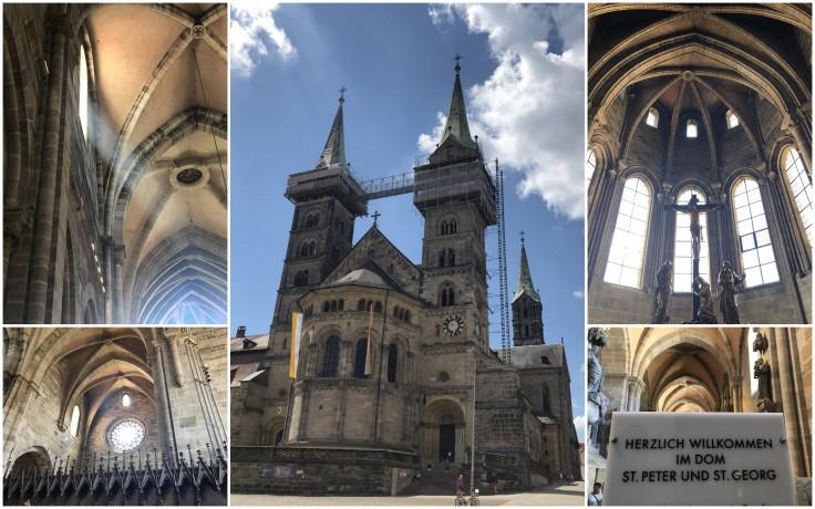 Bamberg church collage