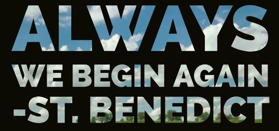 always we begin