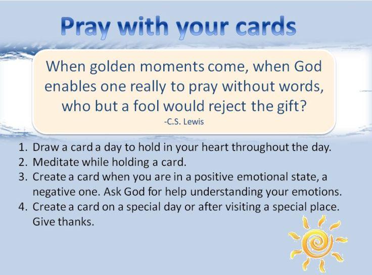 pray w cards