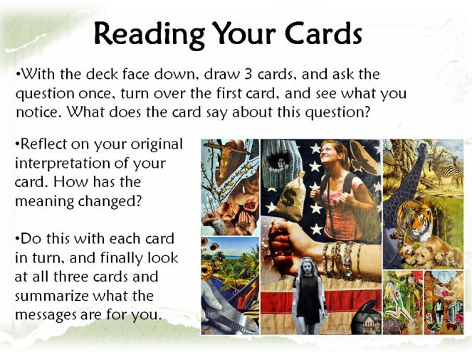 reading your cards