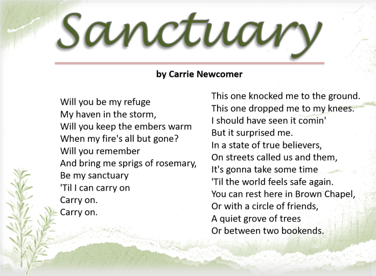 sanctuary lyrics