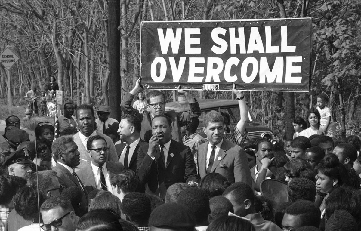 We Shall Overcome Someday – Being Benedictine