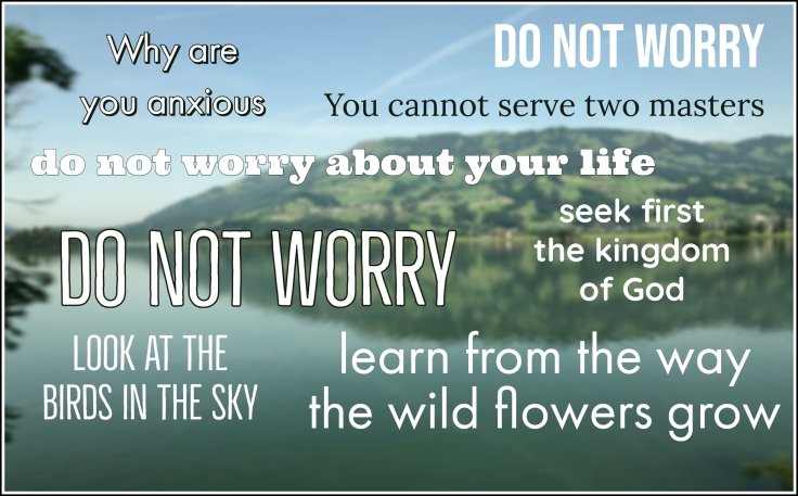 lectio do not worry